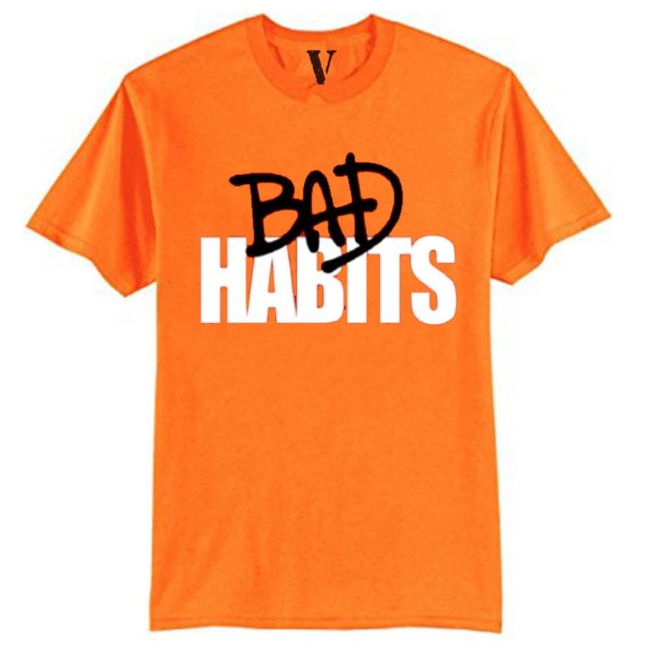 Nava VLONE Drip T-Shirt Vlone Shop Orange