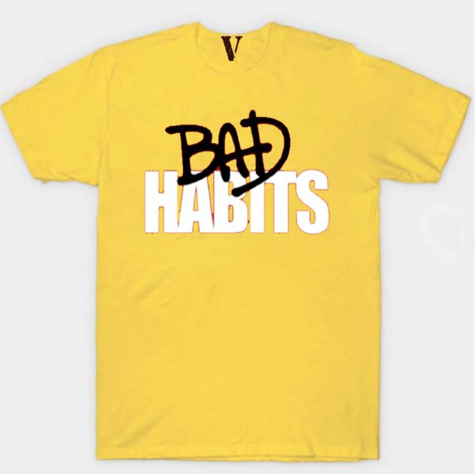 Nava VLONE Drip T-Shirt Vlone Shop Yellow