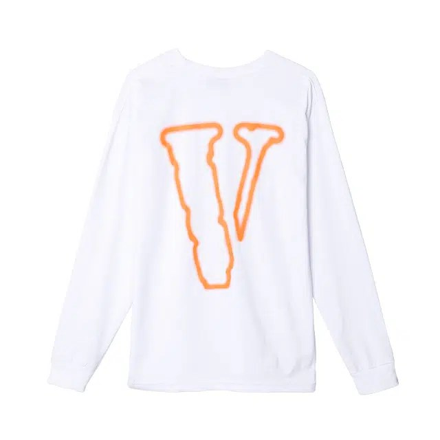 THE 'VLONE VACANCY' WAY Long Sleeve - White