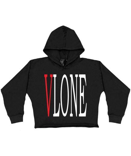 Vlone Staple Red Hoodie – Black – Kids