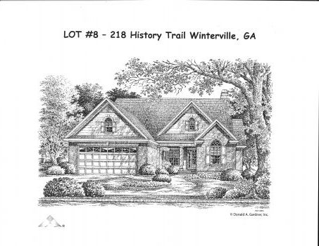 NEW HOMES  in History Village, Winterville, Ga.