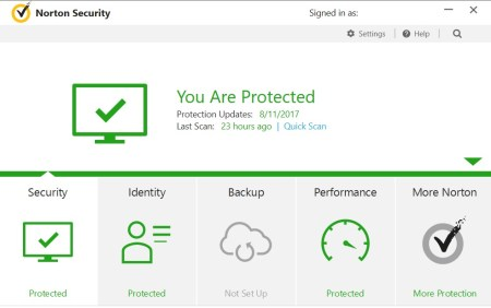 Norton Internet Security 22.12.1.14 Full Product Key
