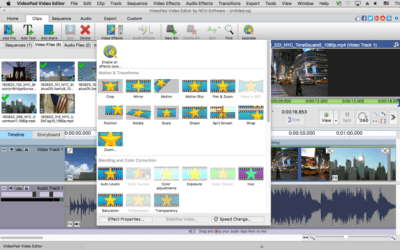 VideoPad Video Editor 7.25 Crack with Keygen Full [Updated] 2019