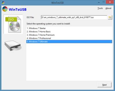 WinToUSB 5.0 Crack + Activation Code Free Download