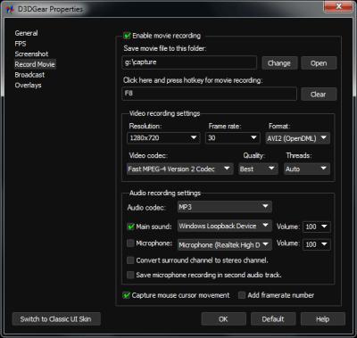 D3DGear 5.00.2243 Serial Key
