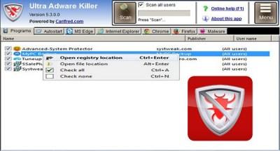 Ultra Adware Killer 7.5.2.0 Serial Key With Crack Full Version