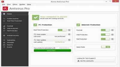 Avira Antivirus Pro 15.0.1907.1514 Crack Lifetime Activation Code Free