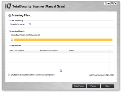 K7 TotalSecurity 16.0.0148 Crack With Serial Key 2020 Free Download
