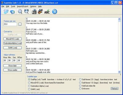Subtitle Edit 3.5.17 Crack With Serial Key 2021 Free Download