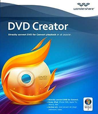 Wondershare DVD Creator 6.3.2.175 Crack + Serial Key 2020 Free Torrent