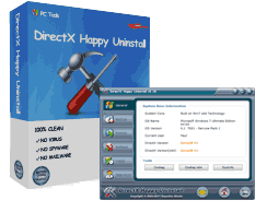 DirectX Happy Uninstall 6.93 Crack With Serial Key Latest 2021