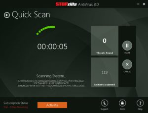 STOPzilla AntiVirus 8.1.1.410 Crack With Key Full Torrent 2020 Free