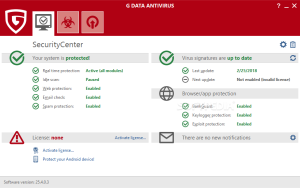 G DATA AntiVirus 25.5.3.4 Crack With License Code Full Updated