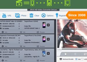 WinX HD Video Converter Deluxe 5.15.4 Crack + Activation Key Here!