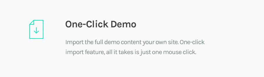One-Click Demo