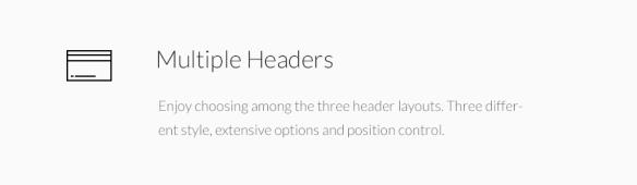 Multiple Headers