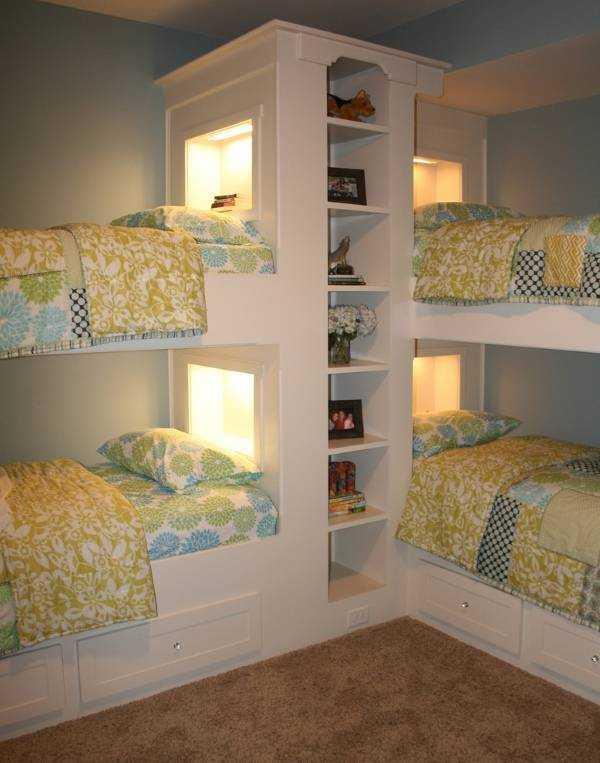 Детские двухъярусные кровати фото – Детская комната с ...