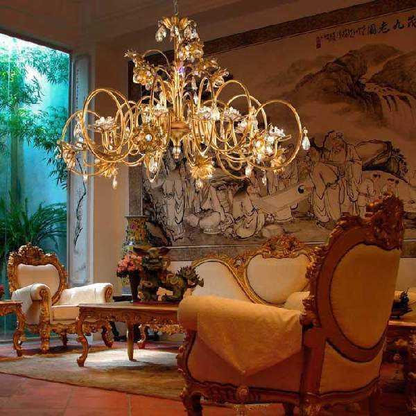 Люстры потолочные фото – варианты для гостиной в ...