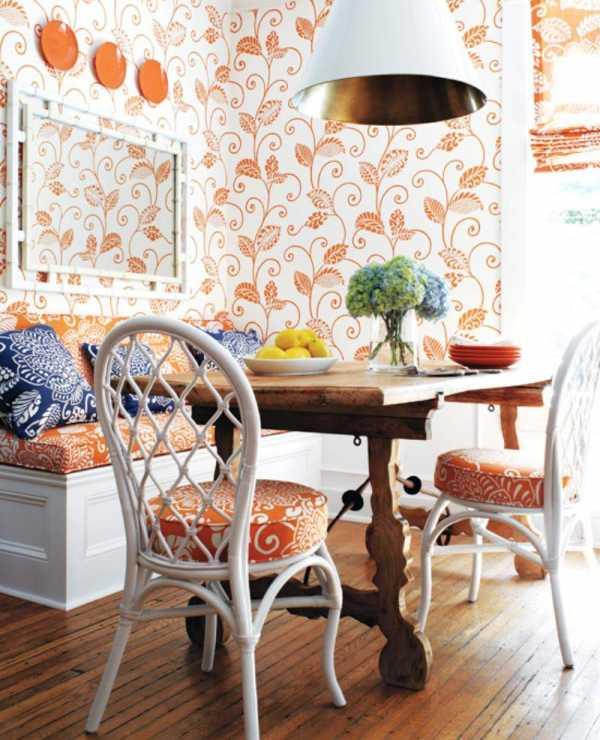 Обои гостиная кухня – Обои в гостиной - 95 фото стильных ...