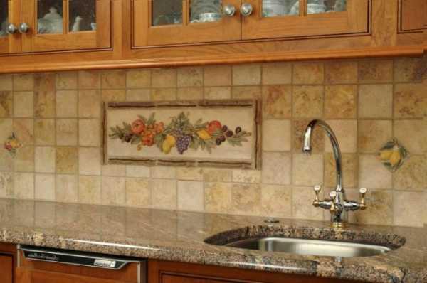Панно из обоев на стену фото для кухни – в интерьере ...
