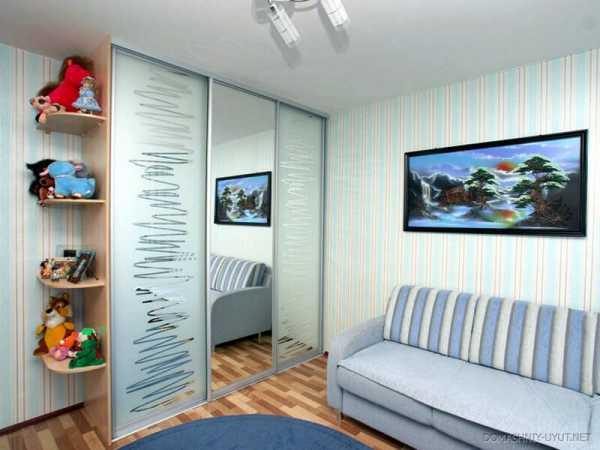 Шкаф купе в детскую комнату для мальчика фото – модель в ...