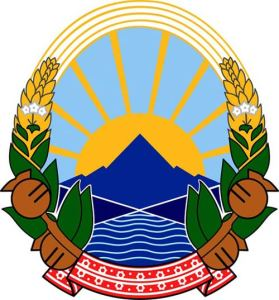 Republic of Macedonia coat of arms.