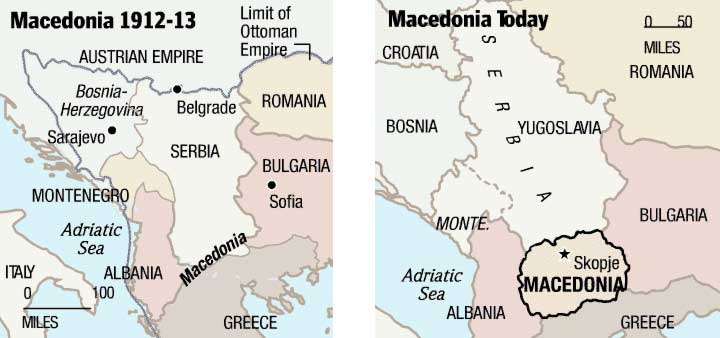 A Concise History of Macedonia