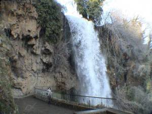 The waterfalls in Voden, Aegean Macedonia.