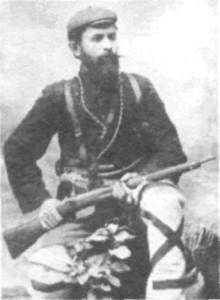 Nikola Karev (1877-1905), head of the Krushevo branch of the MRO and president of the Krushevo Republic.
