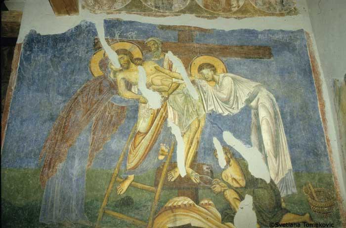 The Lamentation of Christ, Nerezi, 1164