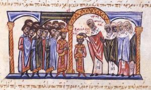 Coronation of Basil II