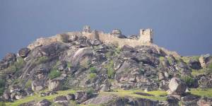 The Remainings of Markovi Kuli (Marko's Towers) in Prilep, Marko's Fortress.