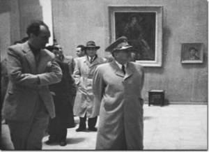 Nikola Martinoski and Josip Broz - Tito in Skopje.