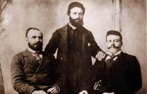 Gjorche Petrov, Nikola Maleshevski and Goce Delchev.