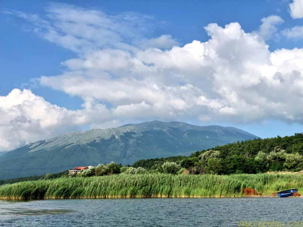 Lake Prespa, Macedonia.