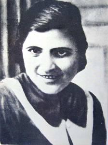 Mirka Ginova (Rusilovo, Aegean Macedonia 1916- Enidze Vardar 27 July 1946)