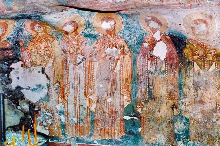 Holy Saints Fresco.