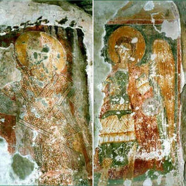 Andronikus II - Paleologus and St. Archangel Michael