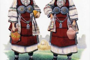 Woman's costume, Ovce Pole - Sveti Nikolsko
