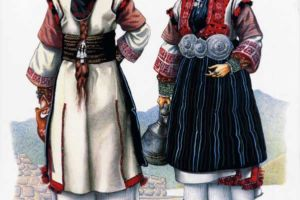 Woman's costume, Gorna Prespa.