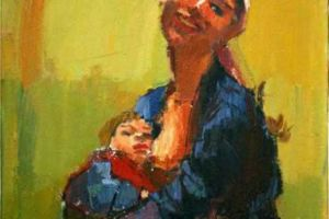 Nikola Martinoski - Mother and Child - Доилка - 1958.