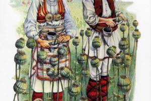Poppy seed collectors, Ovce Pole and Veleshko.