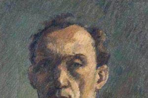 Nikola Martinoski - Self-portrait - Автопортрет - 1949