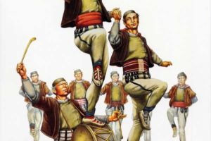 Men's costume, Mala Reka - Mijaci - Galichnik