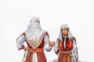 Woman's costume, Dolni Polog, Tetovo