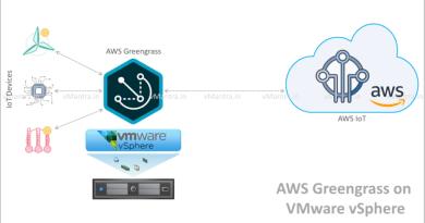 Deploying AWS Greengrass on VMware vSphere