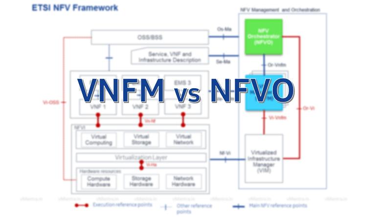 VNFM vs NFVO