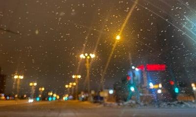 желтый снег выпал в балакове и саратове