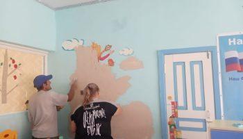 В Ястребовке Марксовского района начался ремонт детского сада - новости маркс
