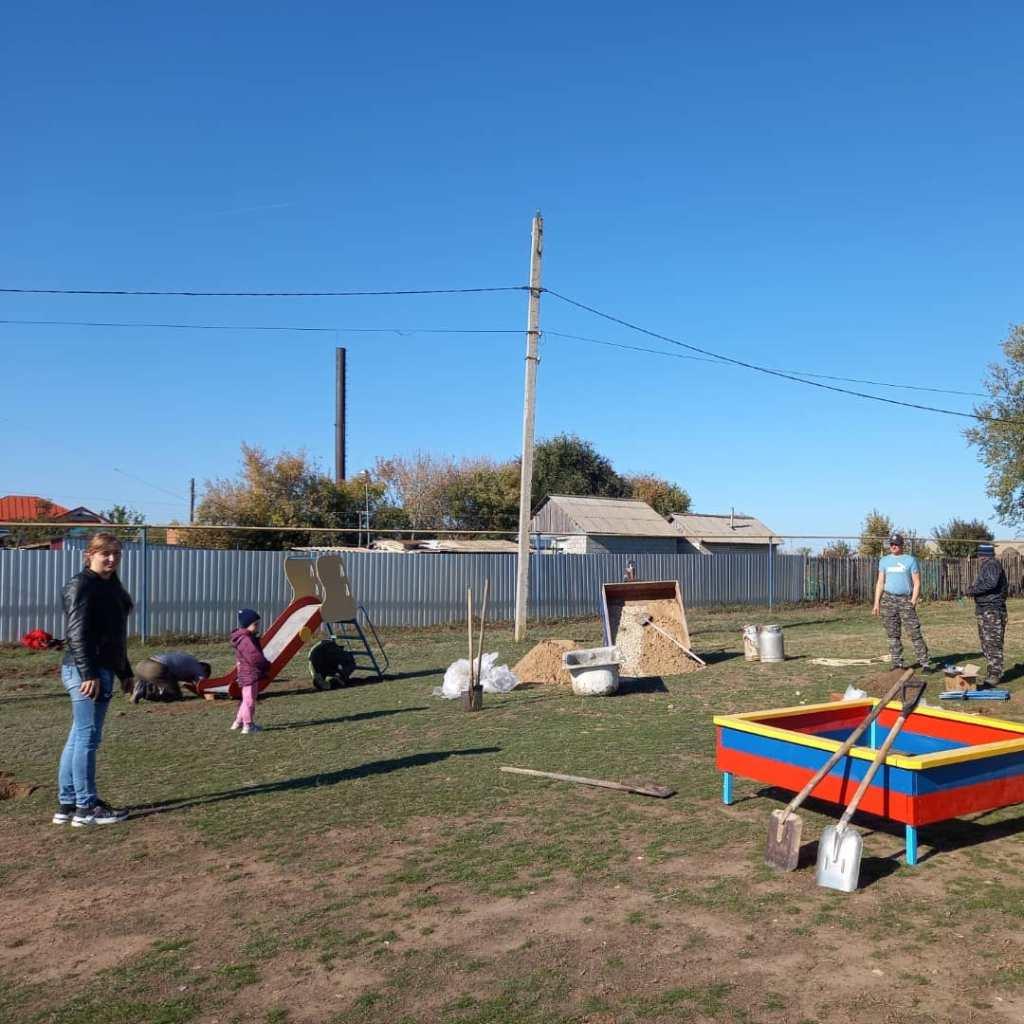 В Бобровке появится новая детская площадка - новости наш маркс